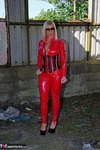 Melody. PVC Cat Suit & Whip Free Pic 5