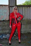 Melody. PVC Cat Suit & Whip Free Pic 6