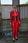 Melody. PVC Cat Suit & Whip Free Pic 7