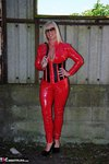 Melody. PVC Cat Suit & Whip Free Pic 9