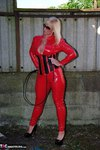 Melody. PVC Cat Suit & Whip Free Pic 10