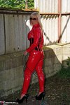 Melody. PVC Cat Suit & Whip Free Pic 11