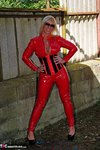 Melody. PVC Cat Suit & Whip Free Pic 14