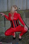 Melody. PVC Cat Suit & Whip Free Pic 15