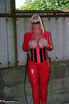 Melody. PVC Cat Suit & Whip Free Pic 19