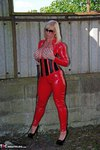 Melody. PVC Cat Suit & Whip Free Pic 20