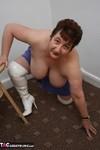 Kinky Carol. White Thigh Boots Pt2 Free Pic 8