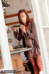 Georgie. Kitchen Voyeur Free Pic 3