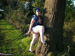 ValgasmicExposed. Outdoors In PVC Free Pic 19
