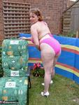 Curvy Claire. Pink Bikini Free Pic 5