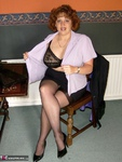 Curvy Claire. Office Girl Free Pic 4