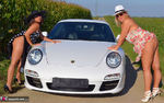 NudeChrissy. One Day With A Porsche Free Pic 10