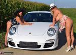 NudeChrissy. One Day With A Porsche Free Pic 11