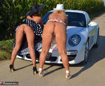 NudeChrissy. One Day With A Porsche Free Pic 15