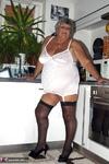Grandma Libby. White Corsellete Free Pic 1