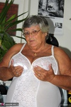 Grandma Libby. White Corsellete Free Pic 3