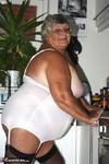 Grandma Libby. White Corsellete Free Pic 7