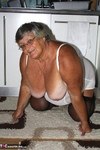 Grandma Libby. White Corsellete Free Pic 10