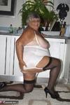 Grandma Libby. White Corsellete Free Pic 20