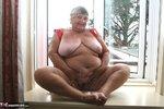 Grandma Libby. Tight Red PVC Free Pic 14
