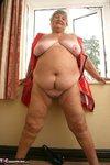 Grandma Libby. Tight Red PVC Free Pic 18