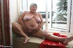 Grandma Libby. Tight Red PVC Free Pic 20