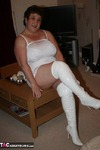KinkyCarol. White Boots In Action Pt1 Free Pic 4