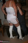 KinkyCarol. White Boots In Action Pt1 Free Pic 11