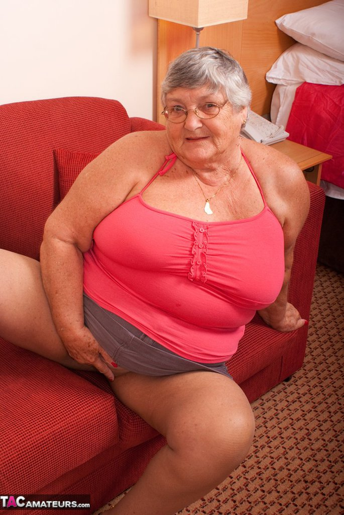 Grandma In Pantyhose 85
