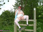 ValgasmicExposed. White Stockings Free Pic
