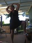 Girdle Goddess. On The Patio Free Pic 12