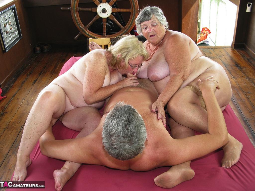 Two granny sex