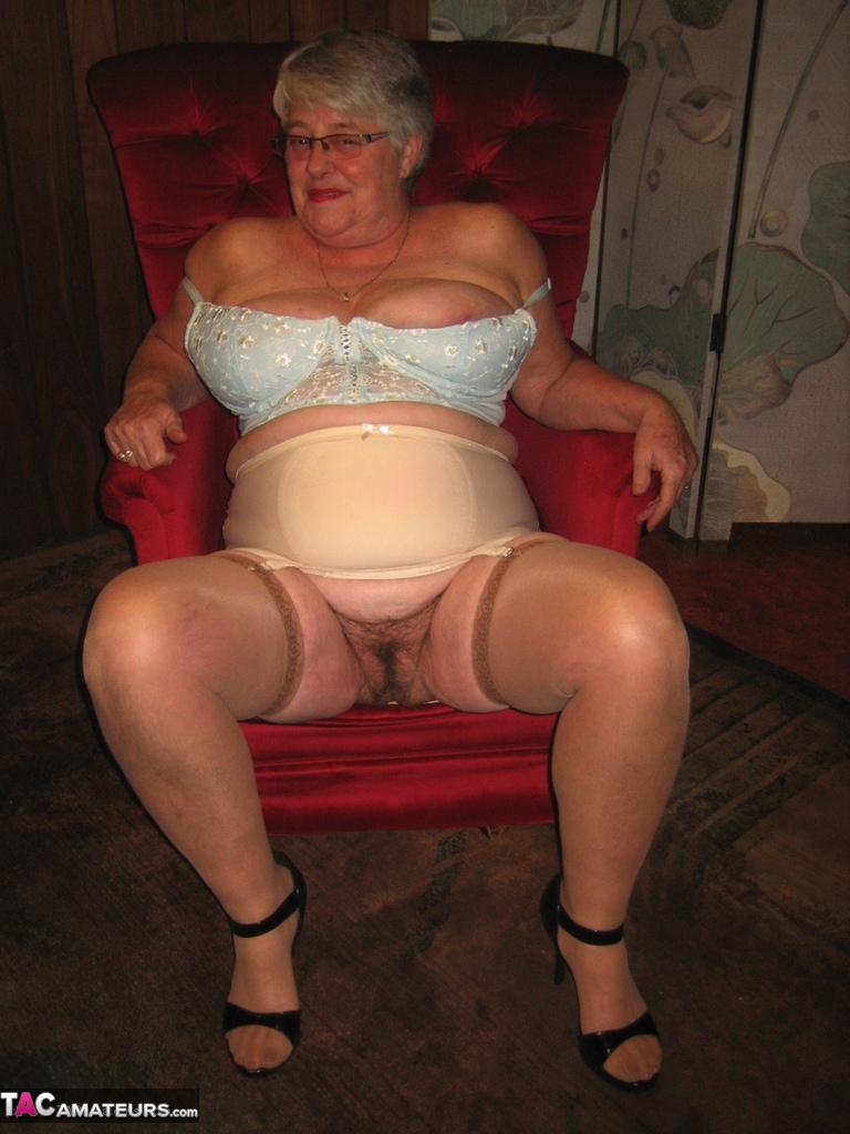 Star girdle video granny mature