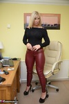 Melody. Red Leather Pt1 Free Pic 9