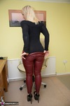 Melody. Red Leather Pt1 Free Pic