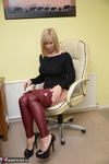Melody. Red Leather Pt1 Free Pic 14