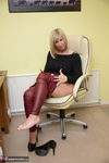 Melody. Red Leather Pt1 Free Pic 15