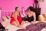 Grandma Libby. Red & Black Free Pic 1