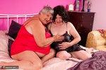 Grandma Libby. Red & Black Free Pic 2