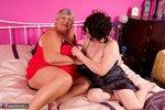 Grandma Libby. Red & Black Free Pic 3