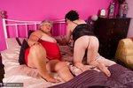Grandma Libby. Red & Black Free Pic 18