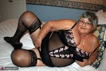 GrandmaLibby. Black Basque Free Pic 2