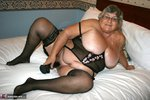 GrandmaLibby. Black Basque Free Pic 9