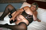 GrandmaLibby. Black Basque Free Pic 10