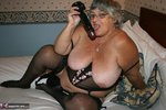 GrandmaLibby. Black Basque Free Pic 14
