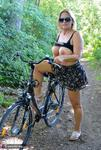 Nude Chrissy. Naked Bicycle Trip Free Pic 3