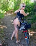 Nude Chrissy. Naked Bicycle Trip Free Pic 6