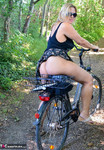 Nude Chrissy. Naked Bicycle Trip Free Pic 7