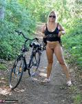 Nude Chrissy. Naked Bicycle Trip Free Pic 12
