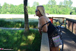 Nude Chrissy. Naked Bicycle Trip Free Pic 16